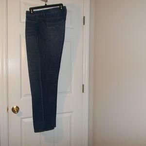 Avenue Blue Denim Jeans